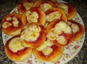 Pizzette per l'aperitivo