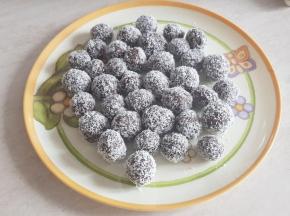Tartufini cocco e nutella