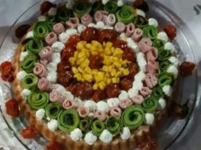 """Torta salata """"alla frutta"""""""