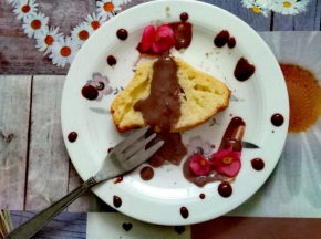 Ciambellone con glassa al cacao