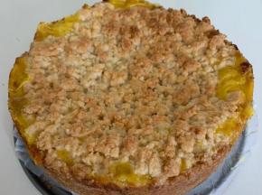 Torta Sbriciolata Crema e Marmellata di Arance