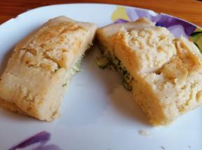 Toast di patate e zucchine