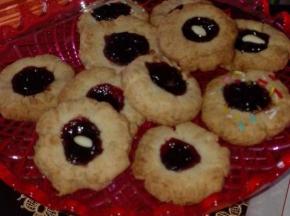 Biscottini alla confettura di amarene