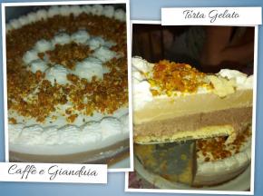 Torta Gelato Gianduia e Caffè