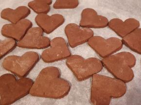 Biscotti Cuor di cacao ❤