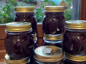 Confettura di uva fragola, cannella e Moscato