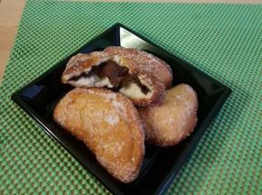 Calzoncelli fritti con nutella