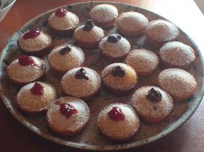 Muffin golosi e morbidi senza  uova e burro