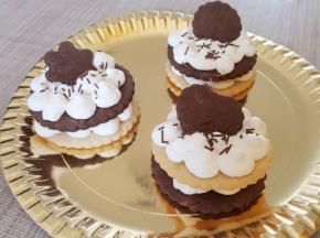 Cream tart con crema al mascarpone