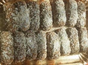Pavesini al cocco  con crema mascarpone e nutella