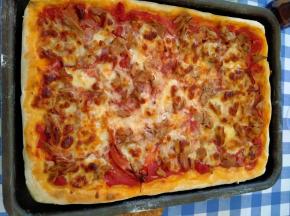 pizza al tonno veloce