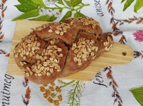 Treccia di Pane ai multicereali