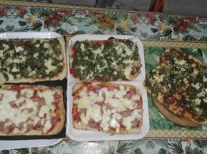 Pizza Bella Alta in teglia