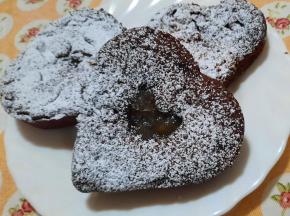 """Crostatine di """"frolla al cacao"""" e pere"""