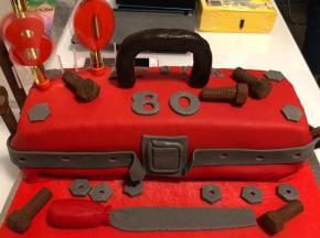 Torta di (80mo) compleanno