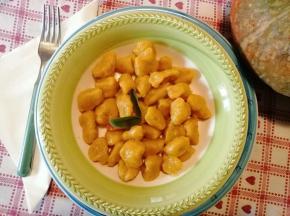 Gnocchi di zucca   [ricetta di Luanak]