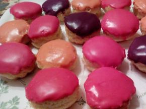Muffin colorati