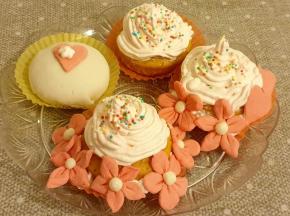 Muffin alla zucca decorati [Sfida Culinaria 10 ANNI  di Dolcidee]
