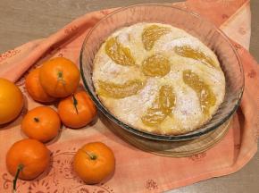 Crostata morbida all'Arancia con crema di Clementine