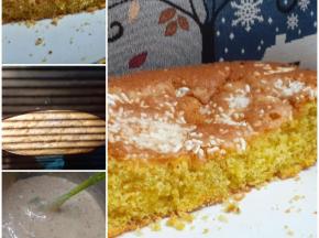 Torta arancia e pistacchio