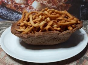 teglia/cestino - tagliatelle/patatine ( il carnevale della community)