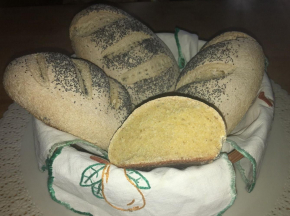 Pane al mais con pasta madre
