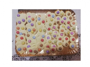 Biscotti arlecchino (1^a sfida culinaria 2021)