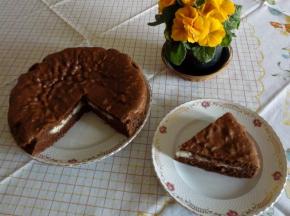 Torta versata al cioccolato e cocco 🍫🥥