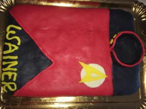Torta Star Treck