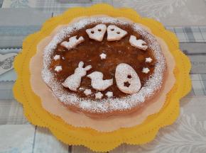 Crostata con confettura e noci - Ricetta della Dolcina Luanak