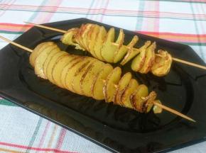 Spiedi di patate