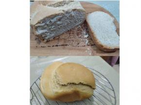 Pane fatto con la macchina del pane