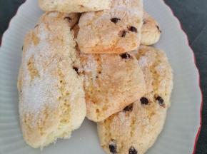Biscottoni con gocce di cioccolato
