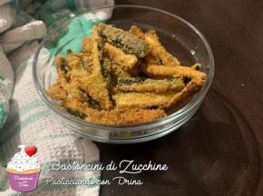 Bastoncini di Zucchine