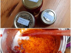Confettura di fragole e carote