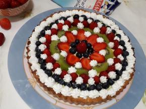 Crostata di frutta 🍓🥝