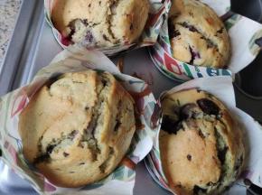 Muffin ciliegie/cioccolato 🍫