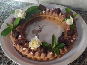 Cream Tart al cioccolato fondente