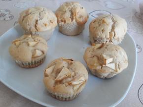 Muffin vegani alle mele