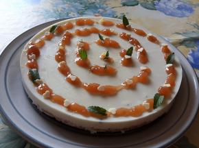 Cheesecake alla panna cotta coriandolo e vaniglia