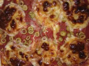 Pizza sfogliata ripiena