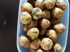 Polpette di spinaci e patate