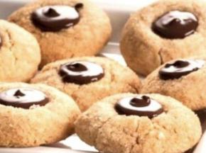 Biscotti al burro con cioccolato
