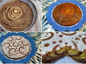 Torta zebrata al cocco e cioccolato ricetta della Dolcina Moniquefeli