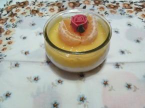 cheesecake in barattolo all'arancio (Sfida)