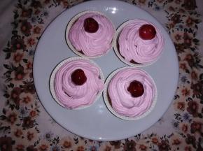 cupcake alla ciliegia