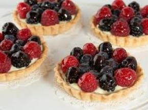 crostatine di frutta e crema pasticcera