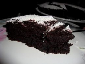 la mia torta al cioccolato super morbidosa senza uova