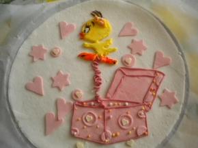 decorazione per torta in marshmallow(conosciuti anche come toffolette)