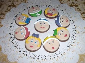 Biscottini al cioccolato (tenere faccine)